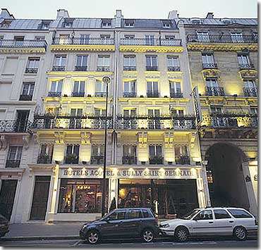 Hotel Sully Saint Germain Paris Nahe Quartier Latin 3 Sterne